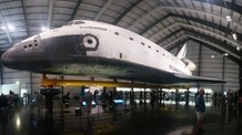 Space Shuttle Endeavour at the California Science Center.