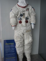 Spacesuit belonging to Ken Mattingly.