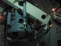 "The Hooker 100"" telescope at Mt Wilson."