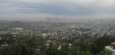 View from Griffith Observatory over Los Angeles during the day.