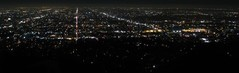 Panoramic view over Los Angeles.