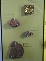 Contrast with Brenham, a low quality pallasite notorious for its tendency to rust and decay.