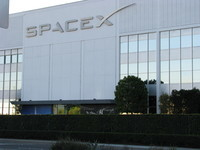 SpaceX, 1 Rocket Rd, Hawthorne, CA. J very generously took an hour out of his very busy work day to show me around the factory (sadly but understandably, photos inside were not permitted); thank you so much! Like an award in the reception area said, SpaceX are doing the right things for the right reasons - an inspiring place.