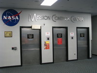This building houses not only the modern-day mission operations control rooms (MOCRs) but also the historical MOCRs from the Apollo era.