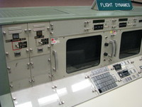 The Apollo Era's Flight Dynamics officer (FIDO, H. David Reed and others)'s console.