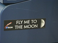 It actually seems kind of doubtful whether an Orion spacecraft will ever get to the Moon, but we'll see!