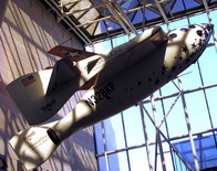 SpaceShipOne, which conducted the first private (suborbital) manned spaceflight.