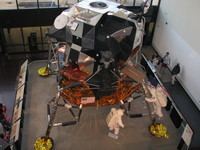 An Apollo Lunar Module.