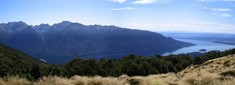 Lake Te Anau, a little further to the left