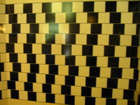 I think I'll adopt that tile pattern for my next bathroom!