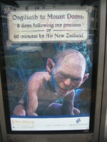 Osgiliath to Mount Doom: 8 days following my precious  - or - 60 minutes by Air New Zealand