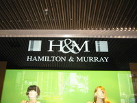 "In New Zealand, ""H&M"" stands for ""Hamilton&Murray""."