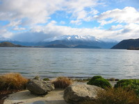 a different part of Lake Wanaka